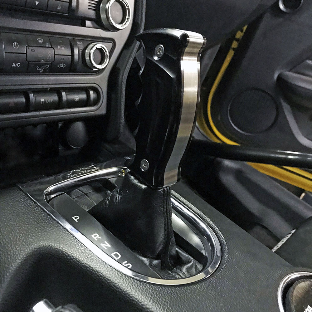 2015 2018 Mustang Gt Upr Billet Automatic 6r80 Shifter Handle