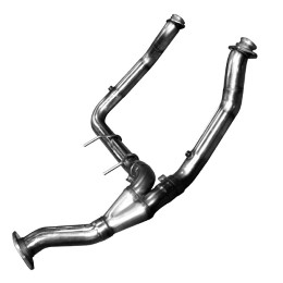 2011-2014 F150 Ecoboost Kooks Stainless Steel Offroad Downpipe