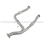 2011-2014 Ecoboost F150 AFE MACH Force XP Stainless Steel Y-Pipe