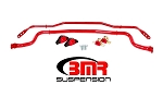 2015 Mustang GT/ECO/V6 BMR Sway Bar Kit w/ Bushings
