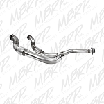 2011-2014 Ecoboost F150 MBRP Stainless Steel Catted Y-Pipe