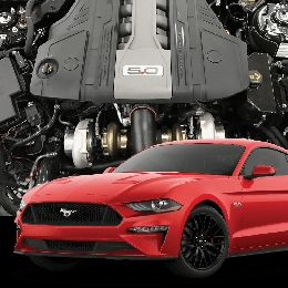 2018 Mustang GT Hellion Twin Turbo Tuner System