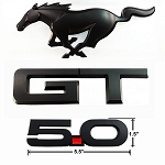 2015-2016 Mustang GT Blackout Emblem Package Officially Ford Licensed