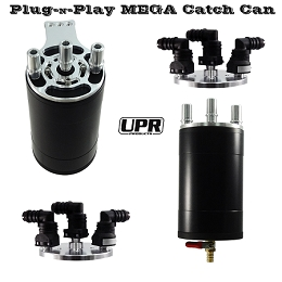 2011-2014 Ecoboost F150 UPR 4in Mega No-Drill Catch Can Kit