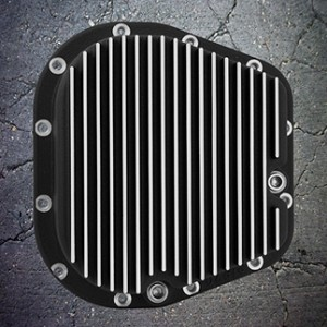2004 2014 f150 outlaw differential cover black w machined grill. Black Bedroom Furniture Sets. Home Design Ideas