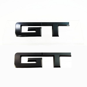 2015-2018 Mustang GT UPR Rear GT Black Emblem Officially Ford Licensed