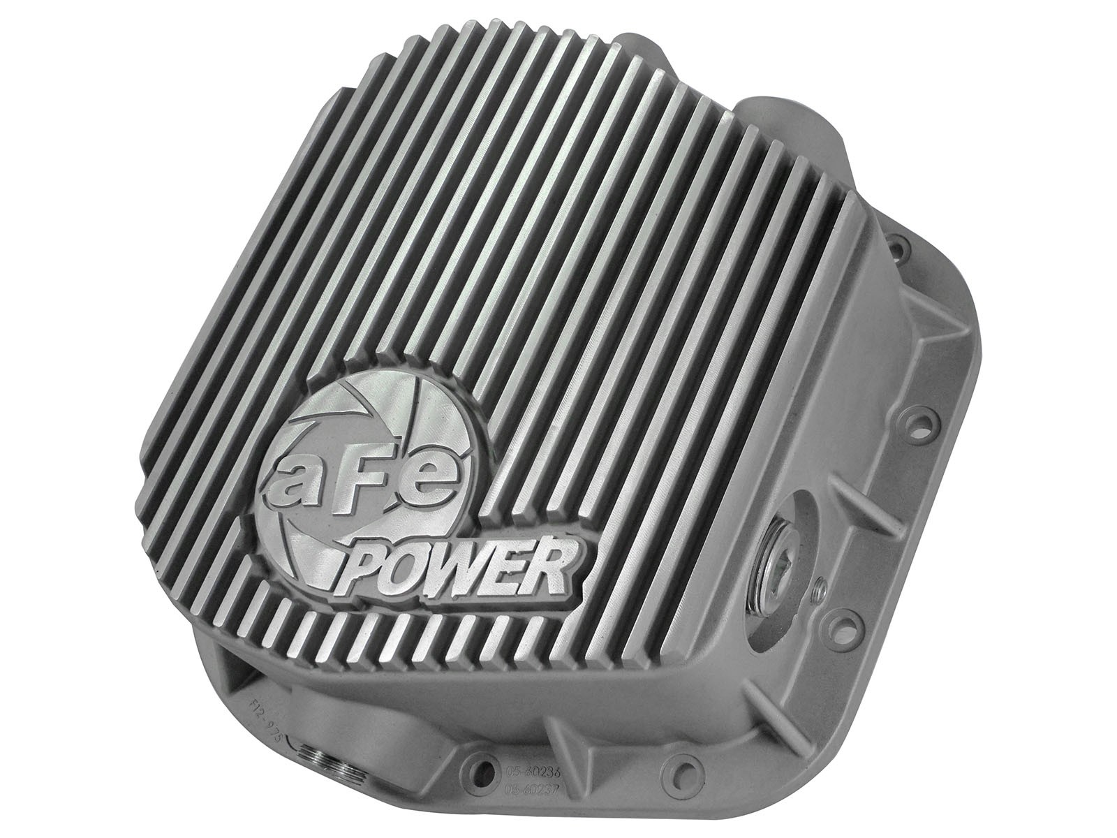 1997-2017 Ford F-150 AFE Rear Differential Cover, Raw Finish; Street Series