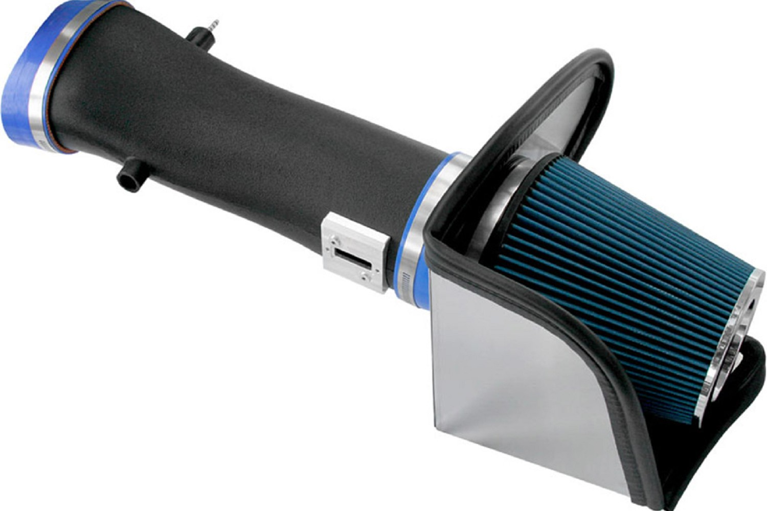 2007-2009 Shelby GT500 Steeda Cold Air Intake, Black Plastic