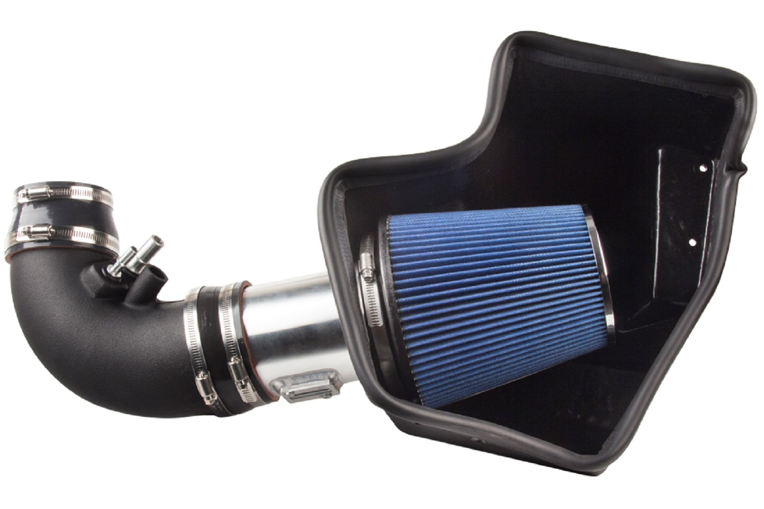 2015-2017 Mustang GT Steeda Cold Air Intake Kit, No Tune Req