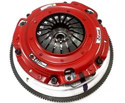 McLeod RXT Twin Disc Clutch Kit 18-20 Ford Mustang GT 1 x 23 Spline 0 Bal w/164T 8 Bolt AL Flywheel