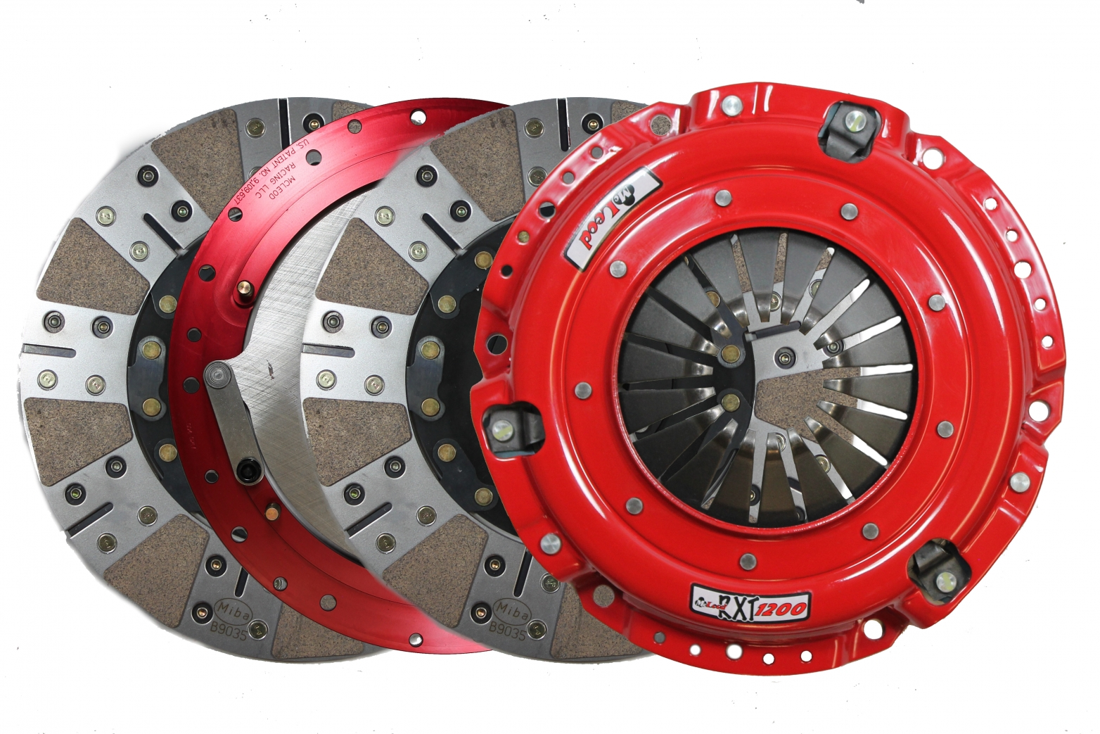 McLeod RXT Clutch 07-09 Mustang Shelby GT500 w/Steel Flywheel
