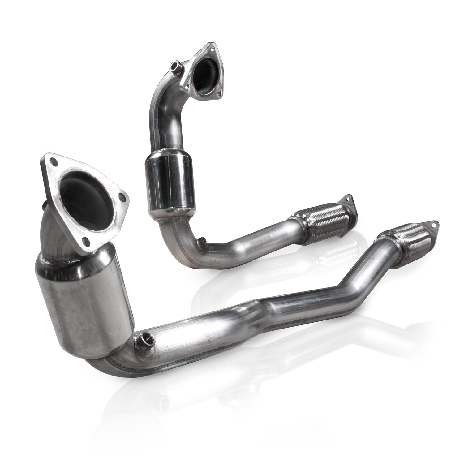 Stainless Works 2010-18 Ford Taurus SHO V6 Downpipe High-Flow Cats