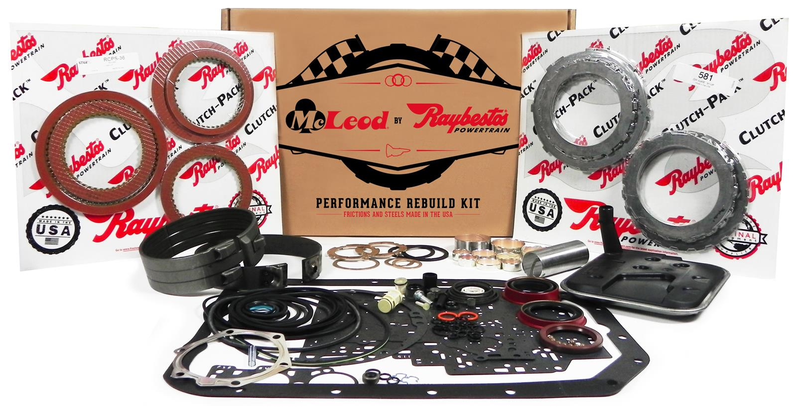 McLeod Performance Transmission Rebuild Kit 6R80 2008-UP - Stage 1
