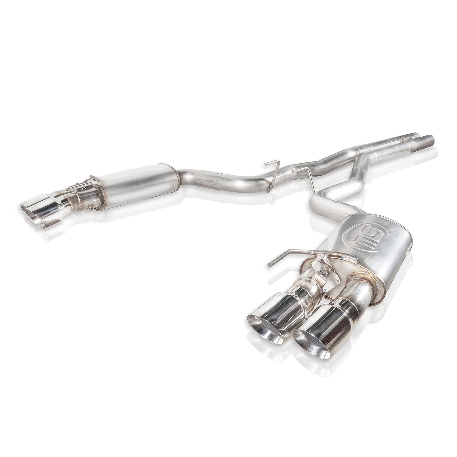 Stainless Works 18+ Ford Mustang GT Redline Cat-Back Performance Connect H-Pipe w/ Active Valves