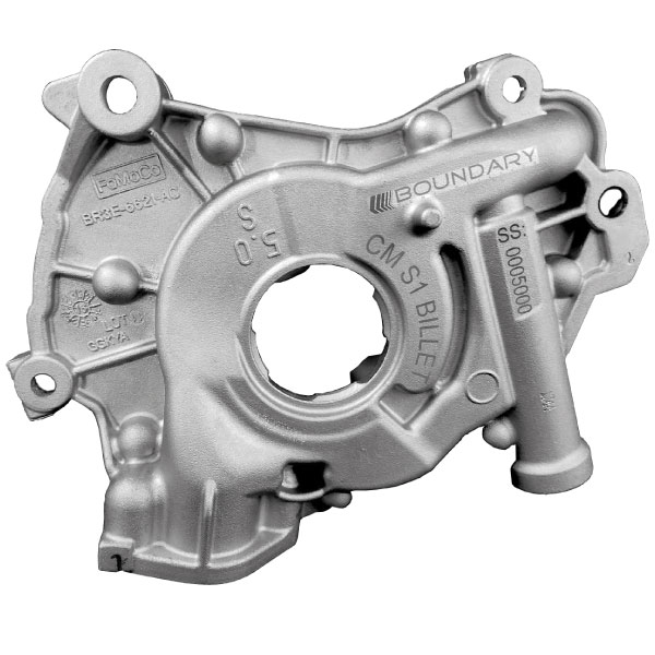 Assembled Coyote Oil Pump