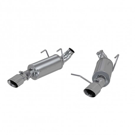 MBRP 2011-2014 V6 3.7L Mustangs 3in. Dual Muffler Axle Back Split Rear T409 Exhaust System