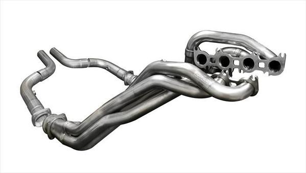 CORSA LONG TUBE HEADERS W CONNECTORS (16117) CATLESS 1.875 X 3.0 IN 2015-2017 FORD MUSTANG GT 5.0L V8