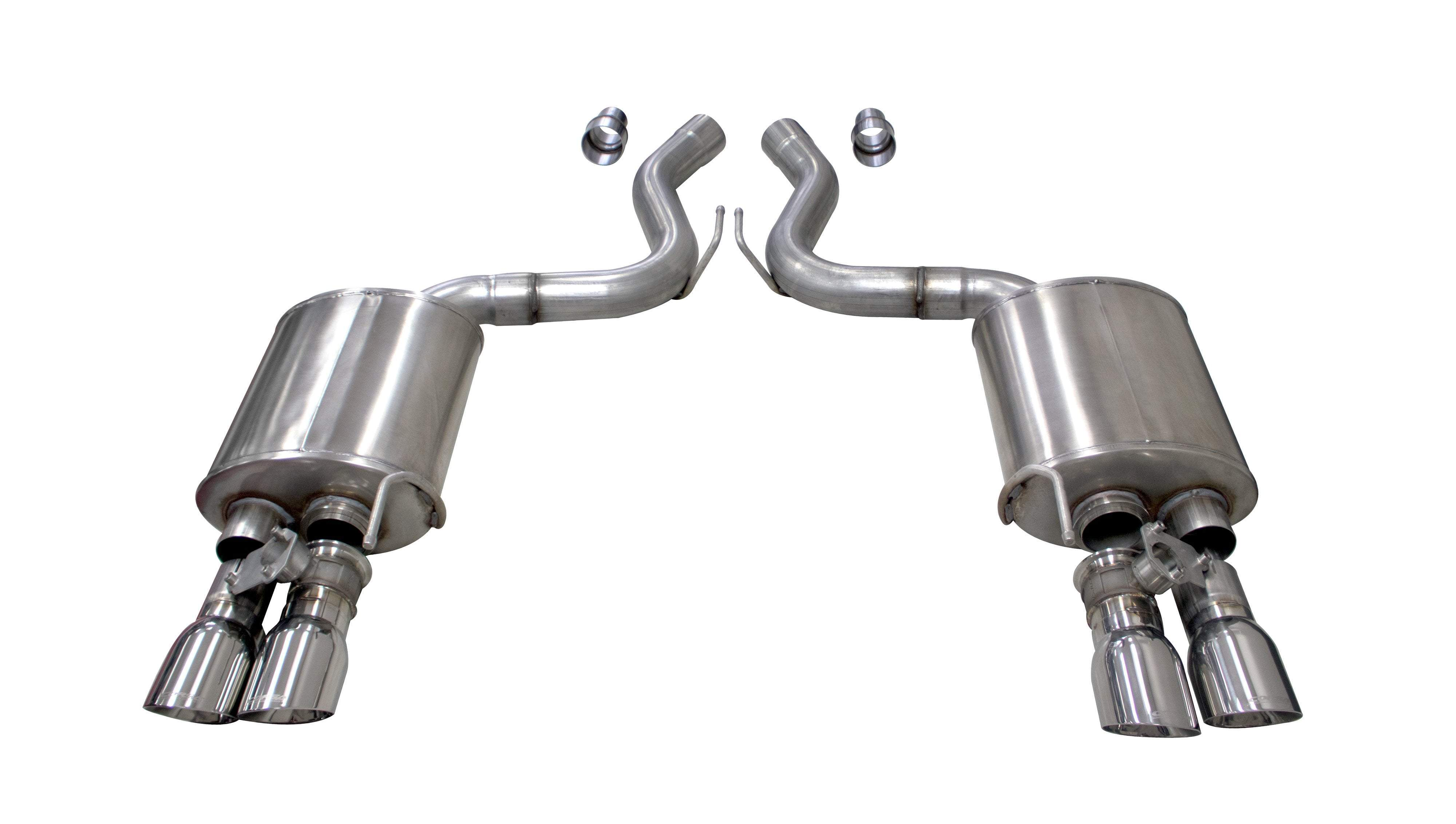 CORSA CORSA 2018+ Ford Mustang GT Fastback 5.0L 3in Sport Axleback Exhaust w/ 4in Polished Tips