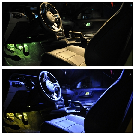 2015 2017 Mustang Gt Eco V6 Led Map Light Upgrade