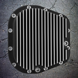 2004-2014 F150 Outlaw Differential Cover Black w/ Machined Grill