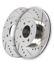 2012-2014 F150 Powerstop Drilled and Slotted Rear Rotors