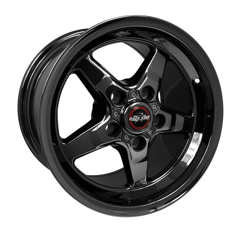 2011-2020 Mustang 92 Drag Star Dark Star 15x10 5x4.50BC 7.25BS