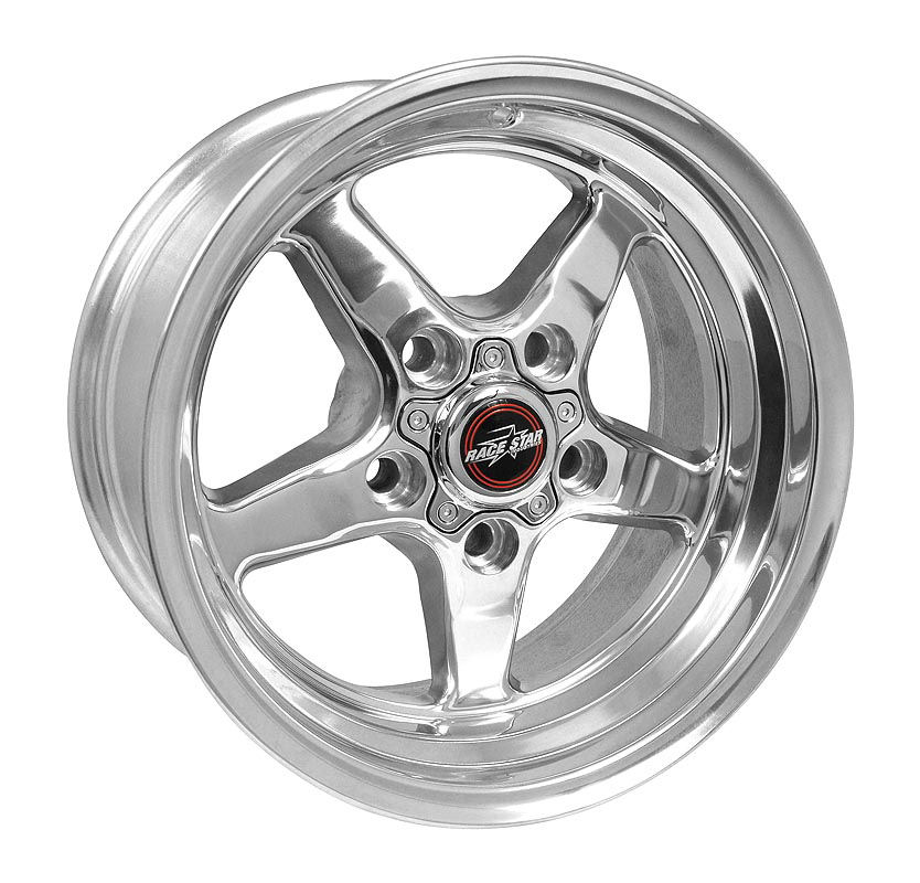 2011-2020 Mustang 92 Drag Star Polish 15x8 5x4.50BC 4.50BS
