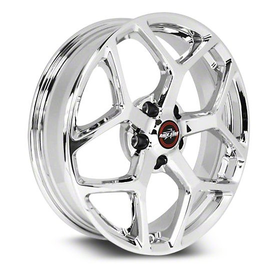 2011-2020 Mustang 95 Recluse Chrome  18x5 5x4.50BC 2.00BS