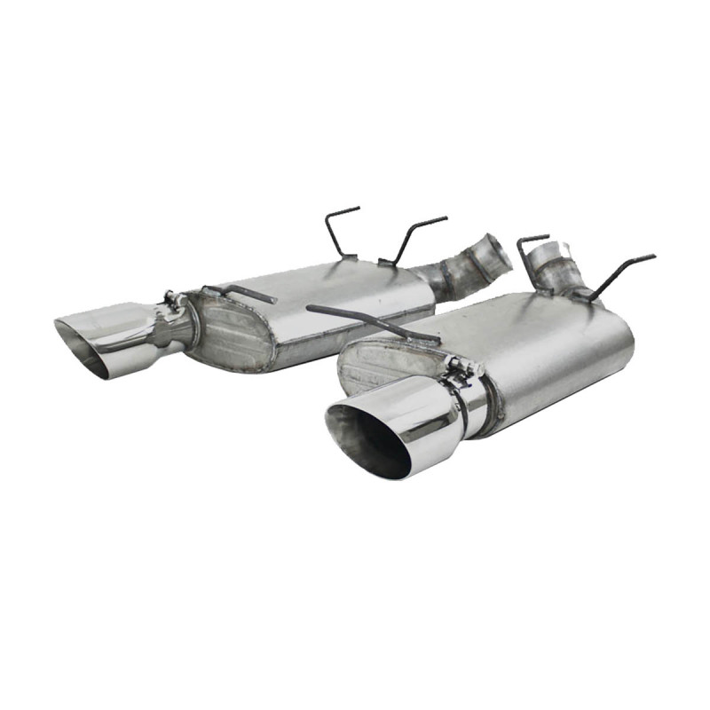 MBRP 11-14 Ford Mustang GT 5.0 3in Dual Muffler Axle Back Split Rear T304 Exhaust System