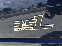 2011-2015 F150 Ecoboost  Twin Turbo Raptor Like Emblem
