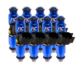 1440cc FIC Fuel Injector Clinic Injector Set for 05-21 Mustang GT (140 lbs/hr at 43.5 PSI fuel pressure)