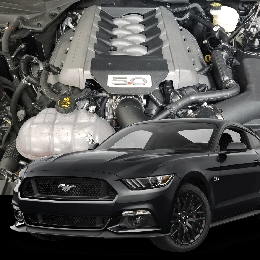 2015-2019 Mustang GT Hellion STREET SLEEPER TWIN TURBO SYSTEM