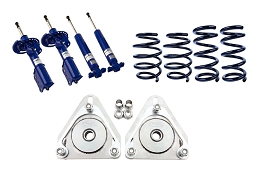 2015-2018 Mustang GT Steeda Progressive Lowering Springs, Camber Plate and Non-Adjustable Shocks and Strut Combo Kit