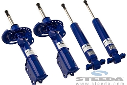 2015-2020 Mustang GT Steeda Front and Rear Pro-Action Shocks and Struts