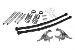 2009-2014 F-150 2WD Belltech Stage 3 Lowering Kit w/ SP Shocks(3/5.5 drop)