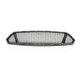 2018-2020 FORD MUSTANG Anderson Composites TYPE-GT CARBON FIBER UPPER GRILLE