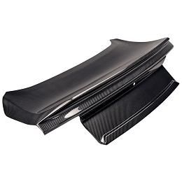 2015 - 2020 Anderson Composites MUSTANG DOUBLE SIDED CARBON FIBER TYPE-ST DECKLID WITH INTEGRATED SPOILER