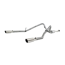 MBRP 11-14 Ford F-150 V6 Ecoboost T409 2.5in Cat Back Dual Rear Exit Exhaust System