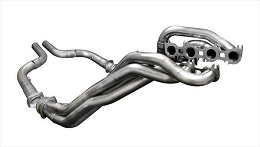 2015-2017 Mustang GT Corsa Long Tube Headers w/ Offroad Connection Pipes
