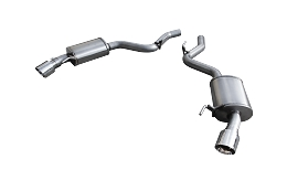 2015-2017 Mustang GT American Racing Headers 2.5in Axle Back Exhaust