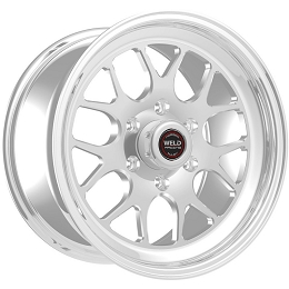 Weld Racing S77 HD Polished 17x5 17x7  6x135