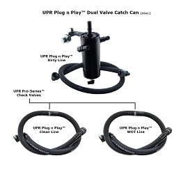 2017 F150 3.5L Ecoboost Plug N Play Dual Valve Catch Can System