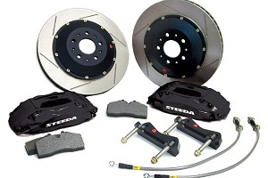 "2005-2014 Mustang GT Steeda 14"" Slotted Front Brake Upgrade Kit"