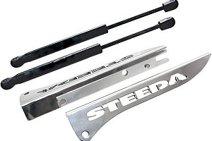 2005-2014 Mustang Steeda Billet Hood Strut Kit