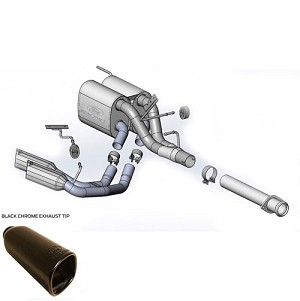 2014 Ecoboost F150 Tremor Ford Racing Sport Side Exit Exhaust