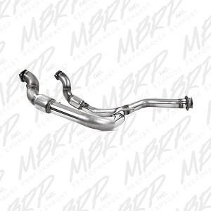 2011-2014 Ecoboost F150 MBRP Aluminized Catted Y-Pipe
