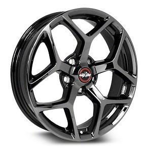 2011-2020 Mustang 95 Recluse Black Chrome  18x10.5 5x4.50BC 7.625BS